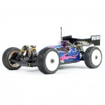 DNX408, 1/8 Buggy Kit, rcca, radio control, rc car action