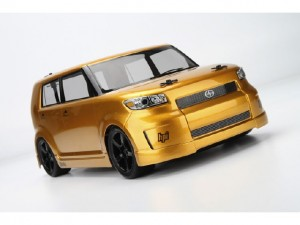 HPI, 1st FWD Car, The RTR HPI Switch, Scion xB Body, front, gold, photo 4