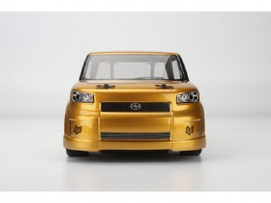 HPI, 1st FWD Car, The RTR HPI Switch, Scion xB Body, front, gold, photo 3