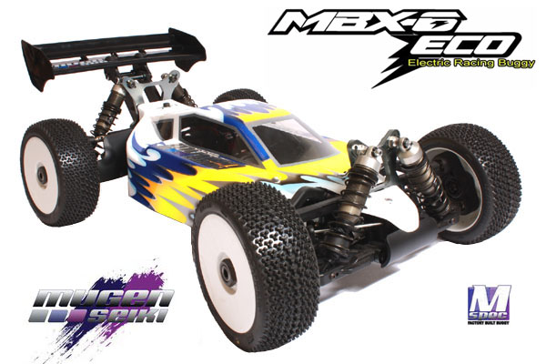 Mugen Goes Electric and Pre-built: MBX-6 ECO M-SPEC Factory Built Electric Racing Buggy