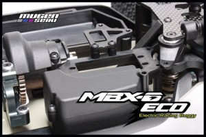 Mugen, MBX-6 ECO M-SPEC Factory Built, Electric Racing Buggy, rcca, radio control, rc car action, photo 2, front view