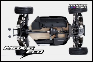 Mugen, MBX-6 ECO M-SPEC Factory Built, Electric Racing Buggy, rcca, radio control, rc car action, bottom, photo 4
