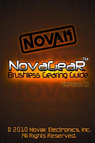 Novak NovaGear 1.1 now available