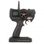 Robitronic 2.4 GHZ TL-3C 3-Channel LCD Radio Set, rcca, radio control, rc car action, robitronic, rcca