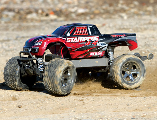 World Exclusive Traxxas Stampede 4x4 Vxl Rcca Radio Control Rc