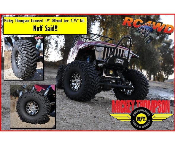 RC4WD Mickey Thompson Baja Claw TTC 1.9″ Off-road tire