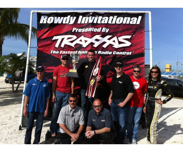 NASCAR Drivers Race Traxxas Spartans at Homestead