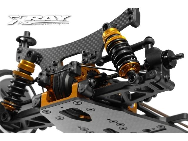XRAY Aluminum Shock Spring Retaining Collars