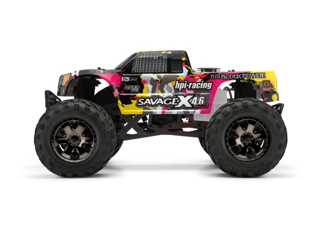 hpi savage x 4 6 rtr now with 2 4ghz radio system and 65 worth of accessories rc car action. Black Bedroom Furniture Sets. Home Design Ideas