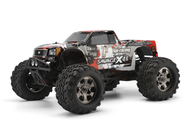 Hpi Savage X 4 6 Rtr Now With 2 4ghz Radio System And  65