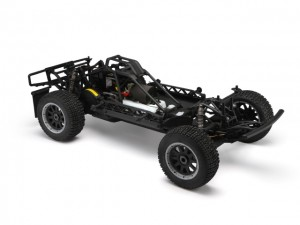 hpi, HPI 1/5 Baja 5SC, Short Course Truck, Kit SS Treatment, rcca, radio control, rc car action, photo 4, front view, black