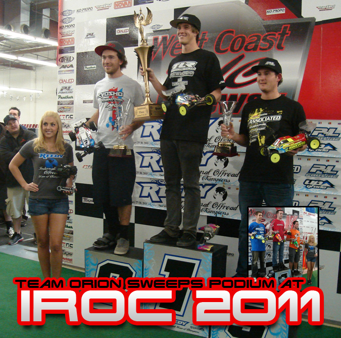 Team Orion Wins Reedy International Off-Road Race of Champions With Prototype Brushless System