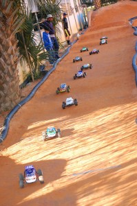 Pro-Line, SuperCup Championship Series round 1, rcca, radio control, rc car action, photo 2, racetrack, sand