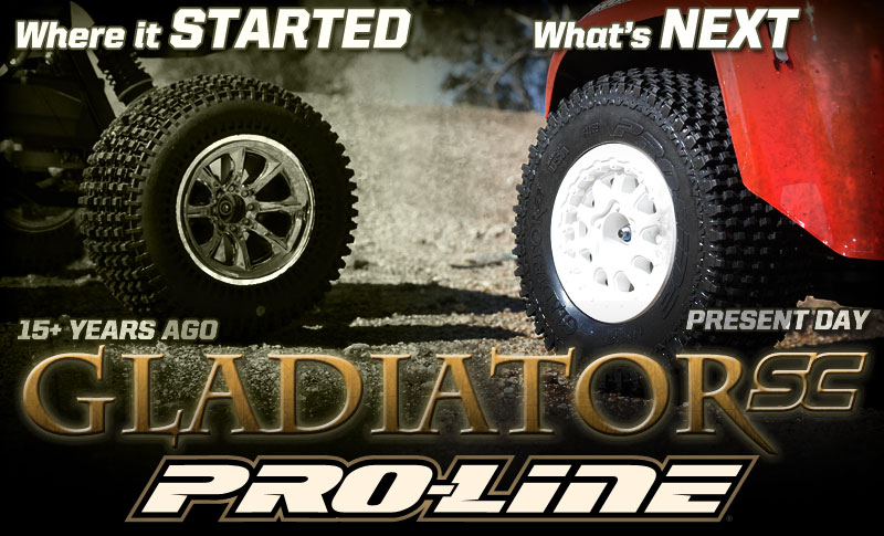 Sneak Peek At Pro-Line's Upcoming Gladiator SC Tire