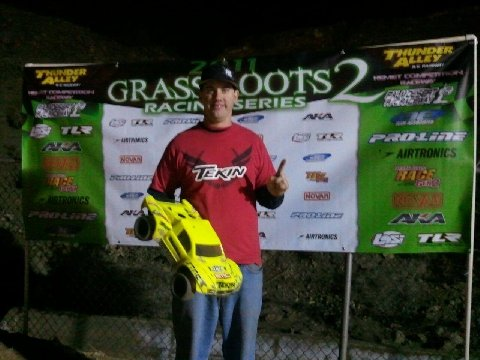 Brian Sullivan TQ's And Wins At The Grass Roots Series