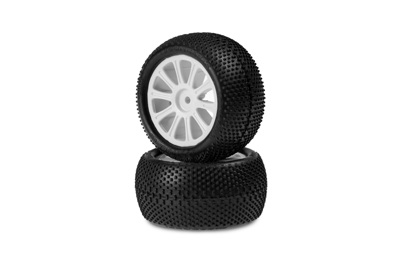 JConcepts Pre-mounted 1/10 Buggy Tires