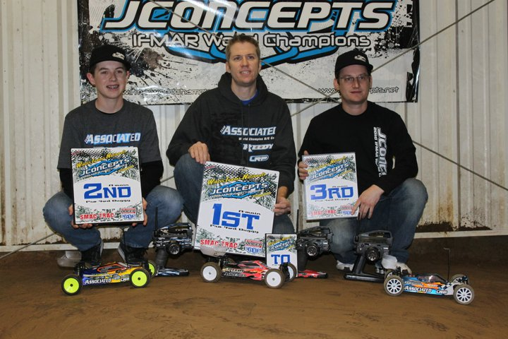 2011 JConcepts Winter Indoor Nationals Round 1 Race Report