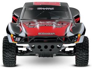 Traxxas Slash Kyle Busch Edition, photo 2, front, truck, rcca, radio control, rc car action