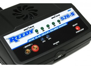 Reedy 526-S AC/DC 2S-6S Cell LiPo/LiFe Balance Charger, rcca, radio control, rc car action, photo 2, up close, closer