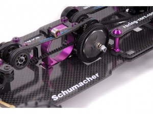Schumacher CAT SX3 Competition 4WD Buggy, rcca, radio control, rc car action, photo 2, black, purple
