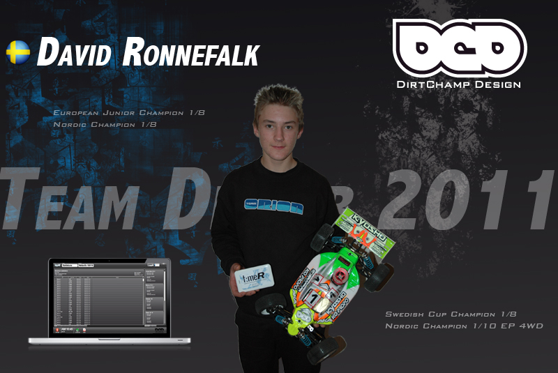 David Ronnefalk Signs With DirtChamp Design For 2011