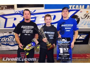 Tanner Denney, Reedy International Off Road Race Of Champions, rcca, radio control, rc car action, photo 2, winners, team associated