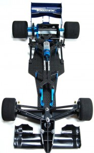 Exotek Racing Tamiya F103 Conversion Kit, rc car action, radio control, rcca, photo 2, front, black