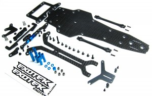 Exotek Racing Tamiya F103 Conversion Kit, rc car action, radio control, rcca, photo 3, parts, exotek