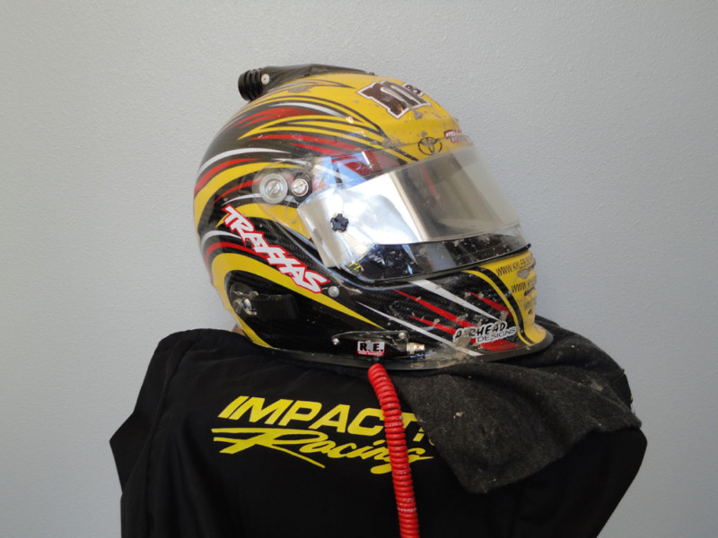 Charity Auction: Kyle Busch Autographed Race-Worn Helmet From His TORC Debut