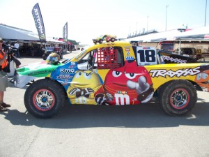 Kyle Busch, Kyle Busch race-worn Helmet TORC Debut, rcca, rc car action, radio control, photo 4, m&m truck, 18