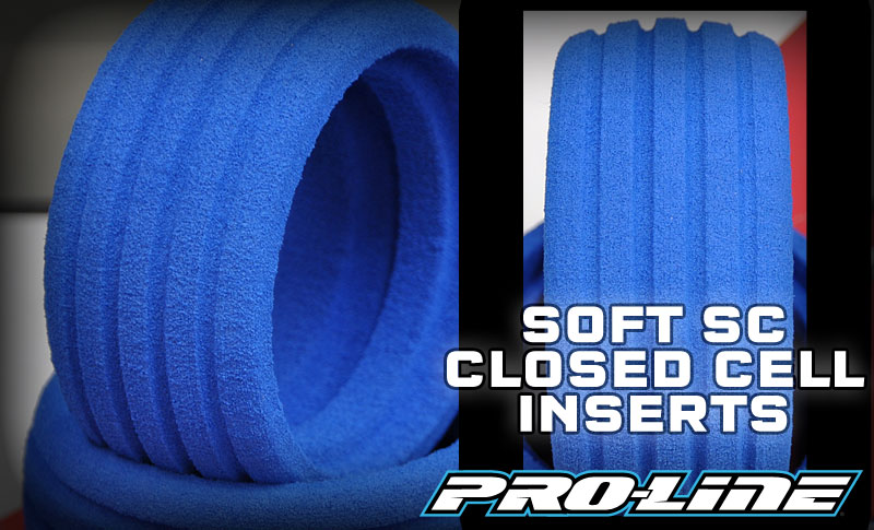 Pro-Line To Release Soft SC Closed Cell Inserts