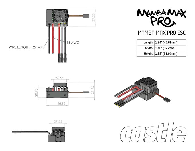 TD mamba_max_pro mamba max pro sct esc and neu castle 1415 2400kv motor combo rc mamba monster 2 wiring diagram at reclaimingppi.co