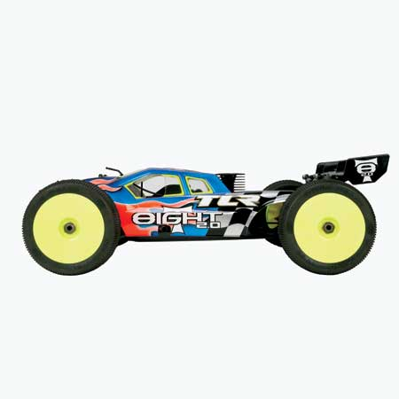 Team Losi Racing 1/8 8IGHT-T 2.0 4WD Truggy Kit