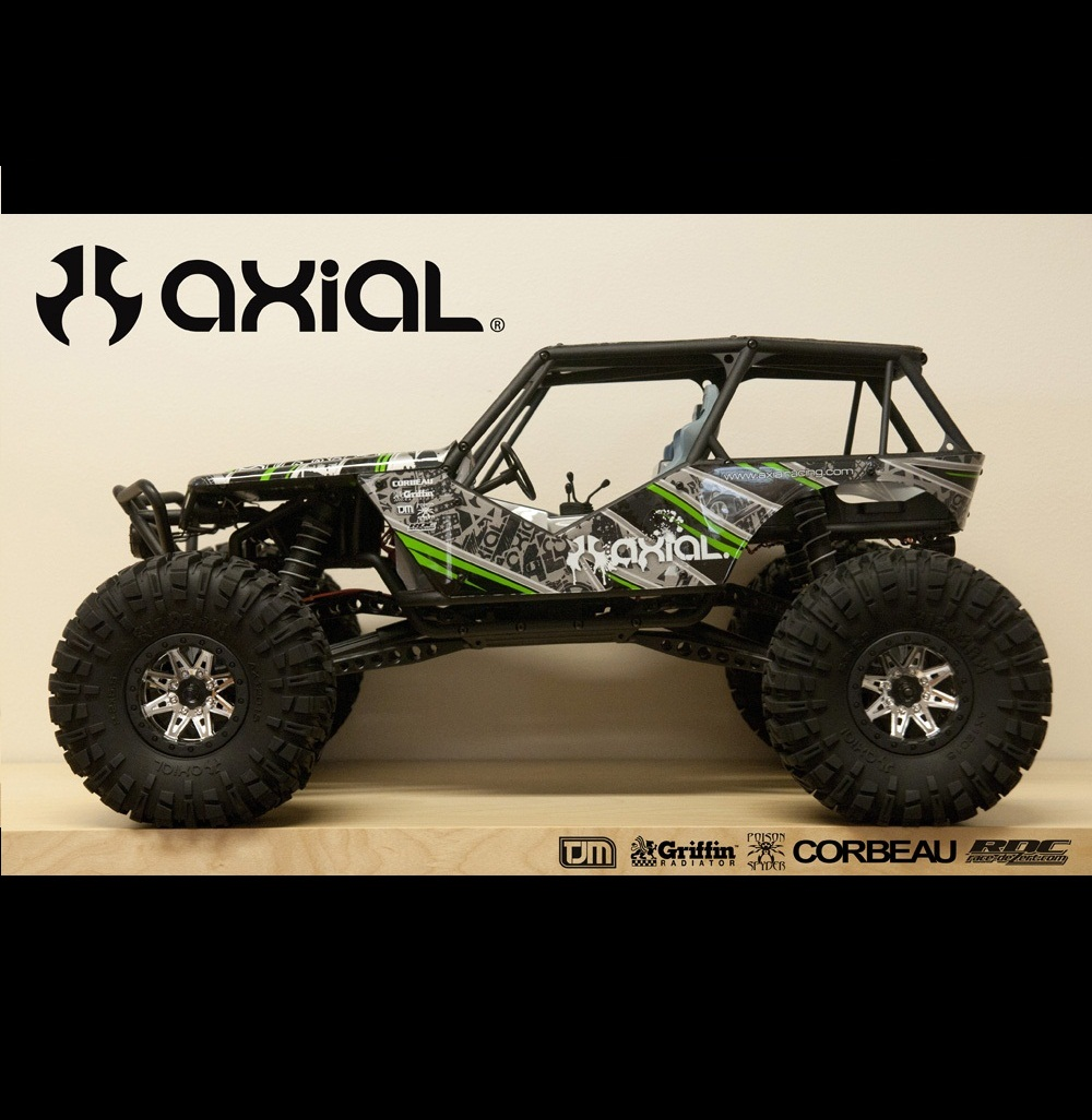 Sneak Peek: Axial's New Crawler