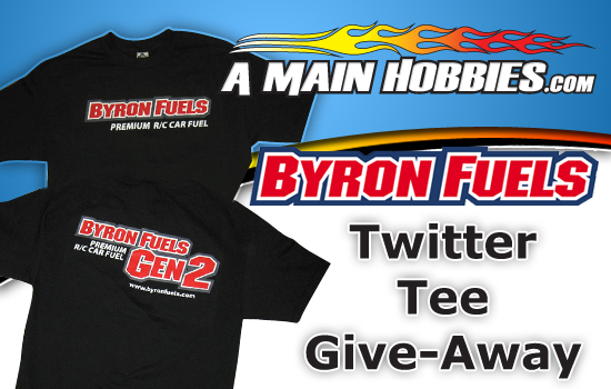 A Main Hobbies Announces Byron Fuels Twitter Tee Giveaway