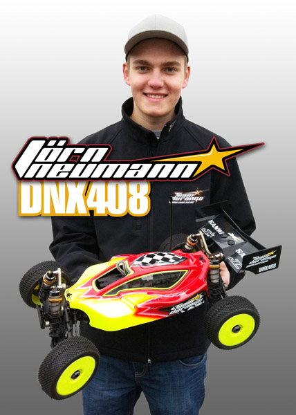 Jörn Neumann To Race The DNX408