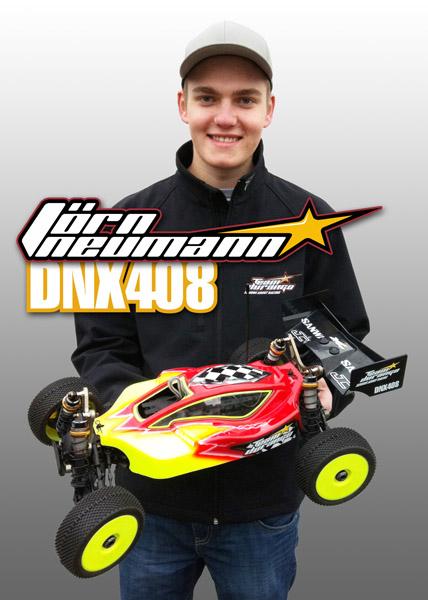 Jörn Neumann To Race The DNX408