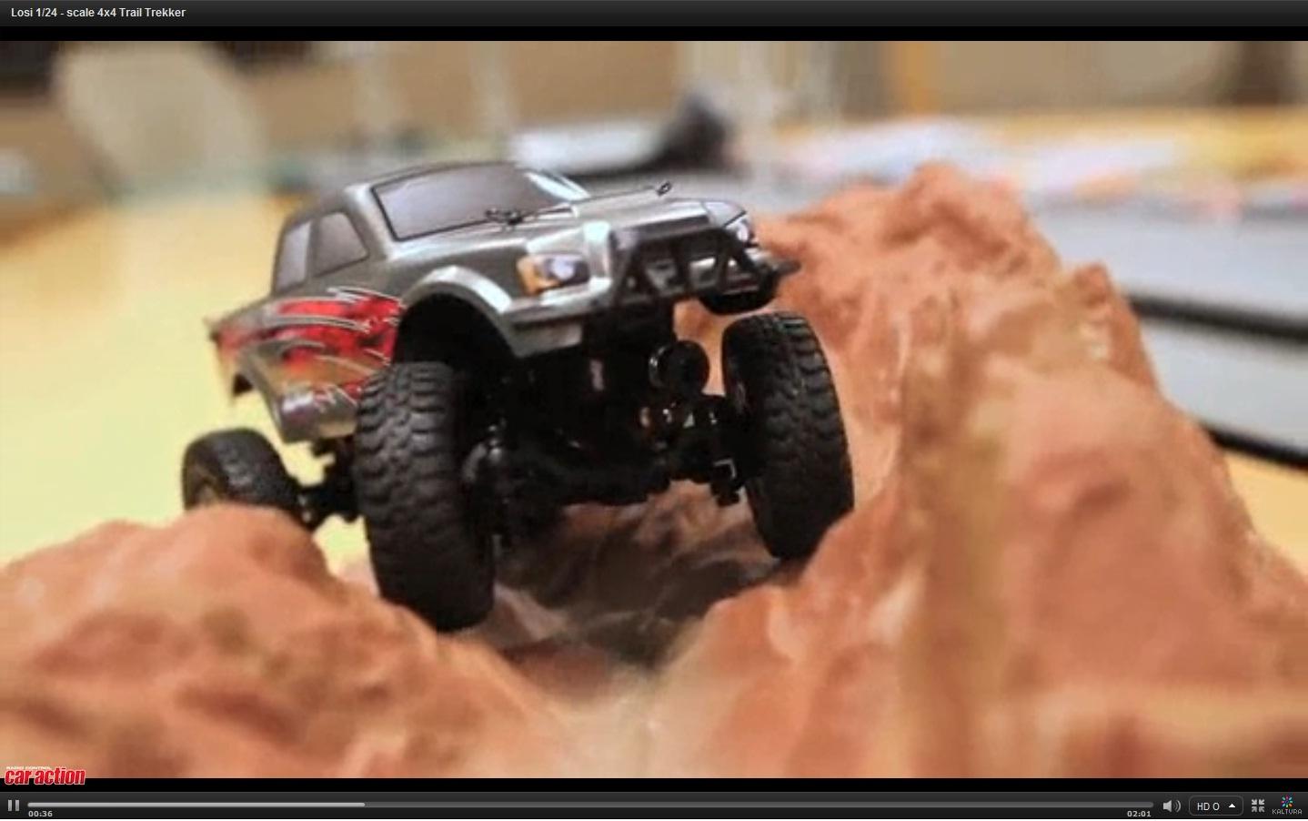 Hot New Video: Losi 1/24 Micro 4X4 Trail Trekker