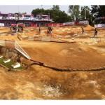 rc race tracks, ideal track, photo 2, rcca, radio control, rc car action, sand