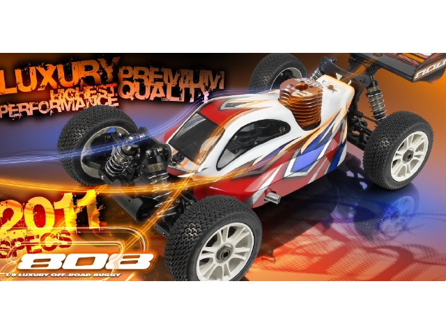 XRAY 808 1/8 Buggy 2011 Version