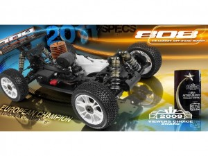 XRAY 808 1/8 Buggy 2011 Version, rcca, radio control, rc car action, european champion, 2009 viewers choice awards, photo 2