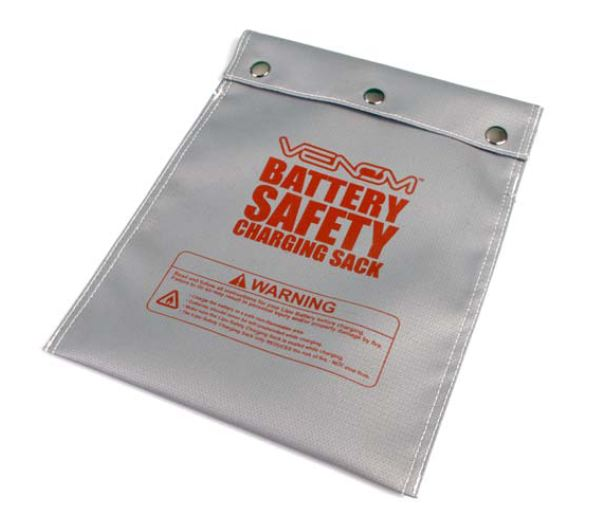 Venom Updates Battery Safety Charge Sack