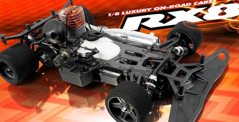 XRAY RX8 1/8 On-Road Car