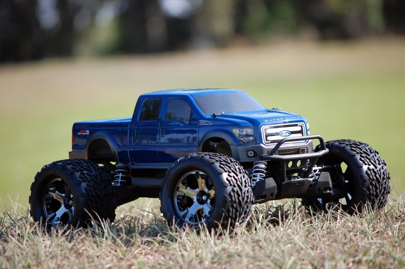 JConcepts Releases A Ford F-250 Body And A New Body Lowering Kit For The Traxxas Stampede