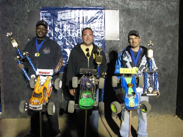 Team Losi Racing Wins Final Round Of KBRL Nitro Series At The Fear Farm RC Facility