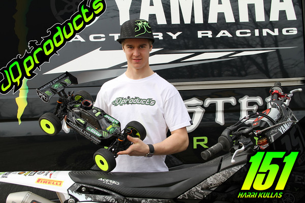 JQ Products Signs Finnish Motocross Rider Harri Kullas