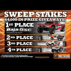 $4,000 in Prize Giveaways from HPI