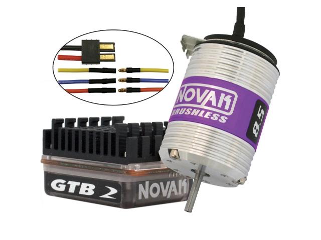 Novak GTB 2 Brushless Combos For Traxxas Vehicles