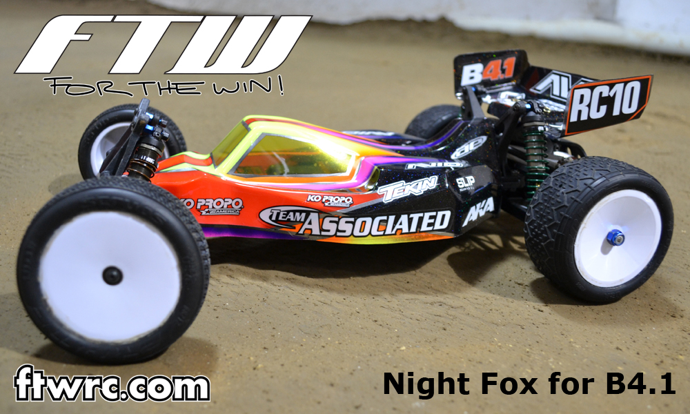 FTW RC Releases Bodies For Team Associated B4.1, Schumacher Cougar SV, And Kyosho Ultima RB5