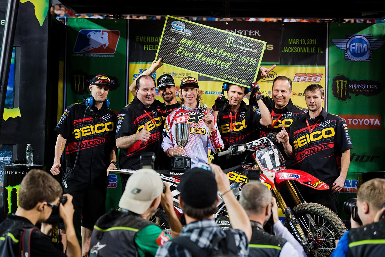 "Team Associated's Justin ""Bam Bam"" Barcia Wins Jacksonville SX"
